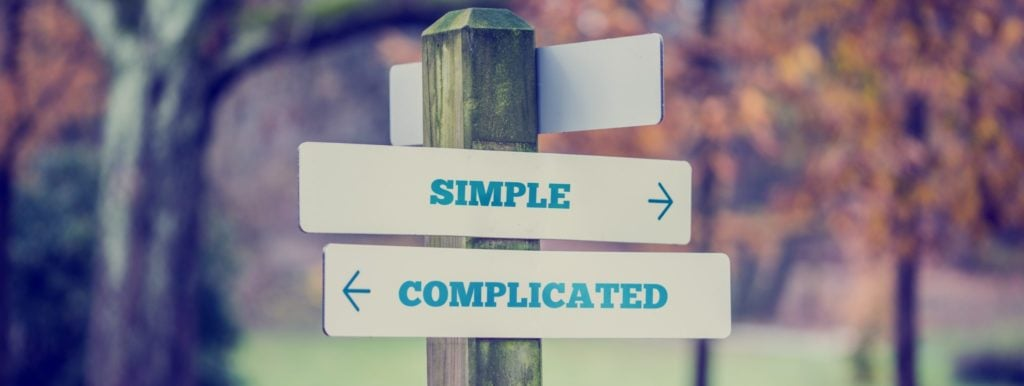 Understanding the need for new approaches is rooted in unraveling the differences between simple, complicated, and complex problems.