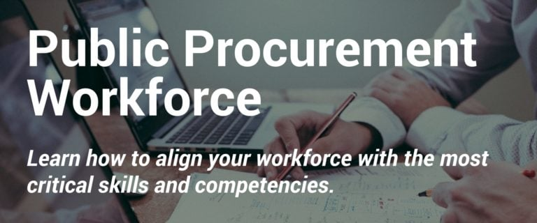 Public Procurement Workforce