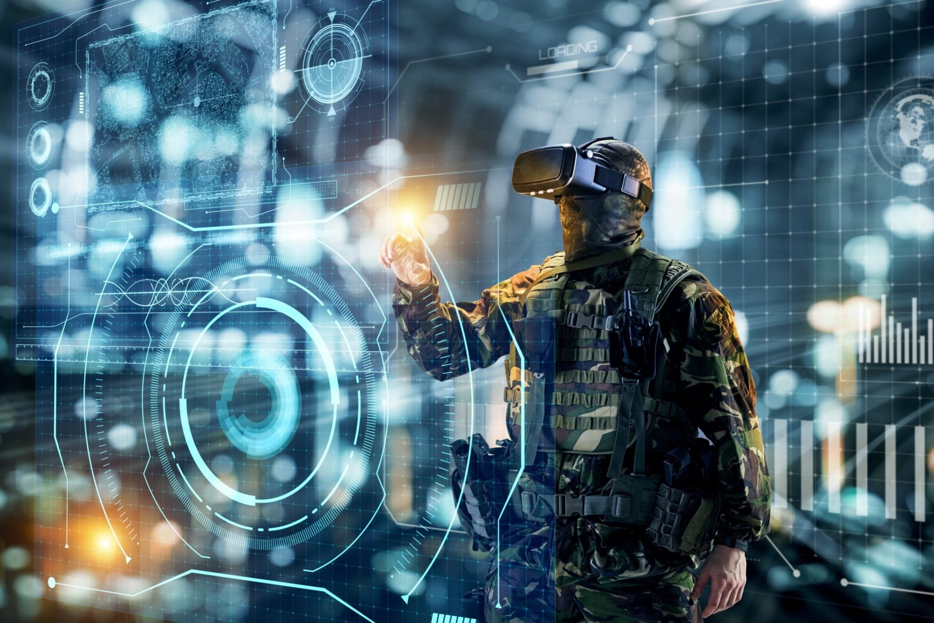 DoD to Use VR Tech to Train Troops