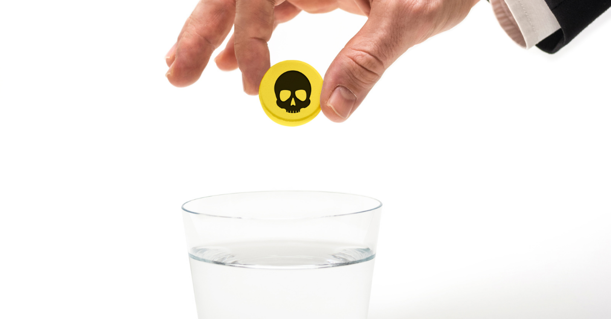 America's Easily-Poisoned Drinking Water