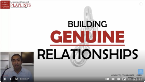 Building Genuine Relationships