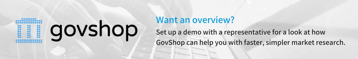 Request a Demo of GovShop Banner