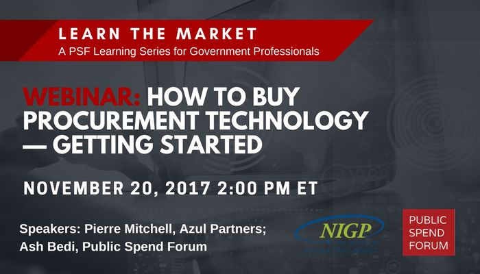 How to Buy Procurement Technology Webinar