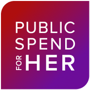 Public Spend For Her Logo