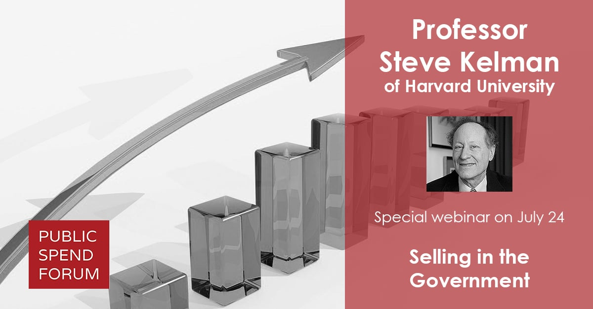 Recap: 'Selling in the Government' Webinar with Dr. Steve Kelman