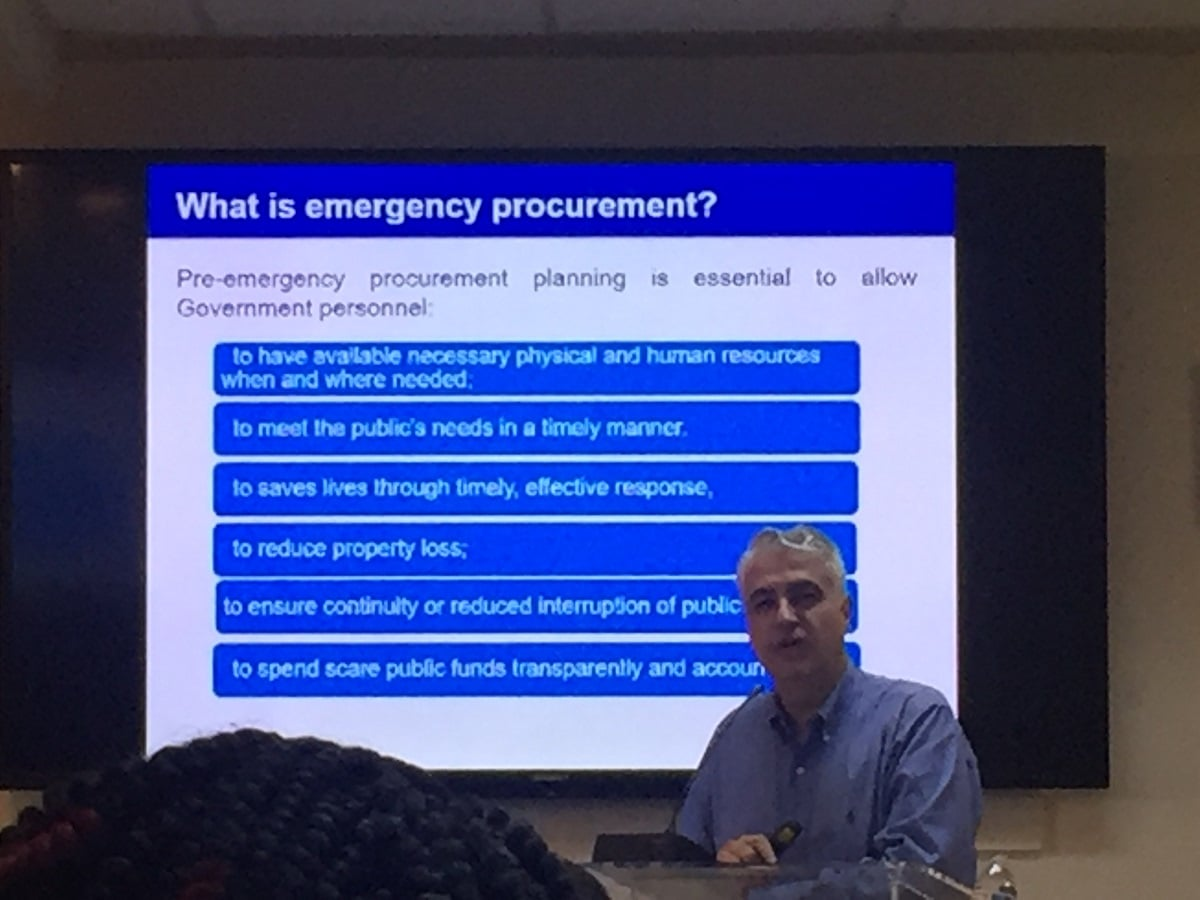 Disaster and Emergency Part 2: Why Procurement Skills Are Important