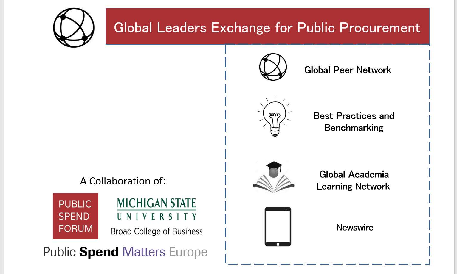 Welcome to the Global Leaders Exchange for Public Procurement
