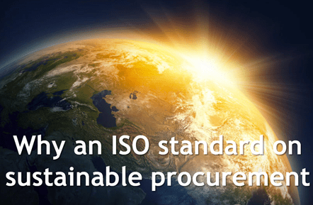 Measuring & Improving Sustainable Procurement with ISO 20400