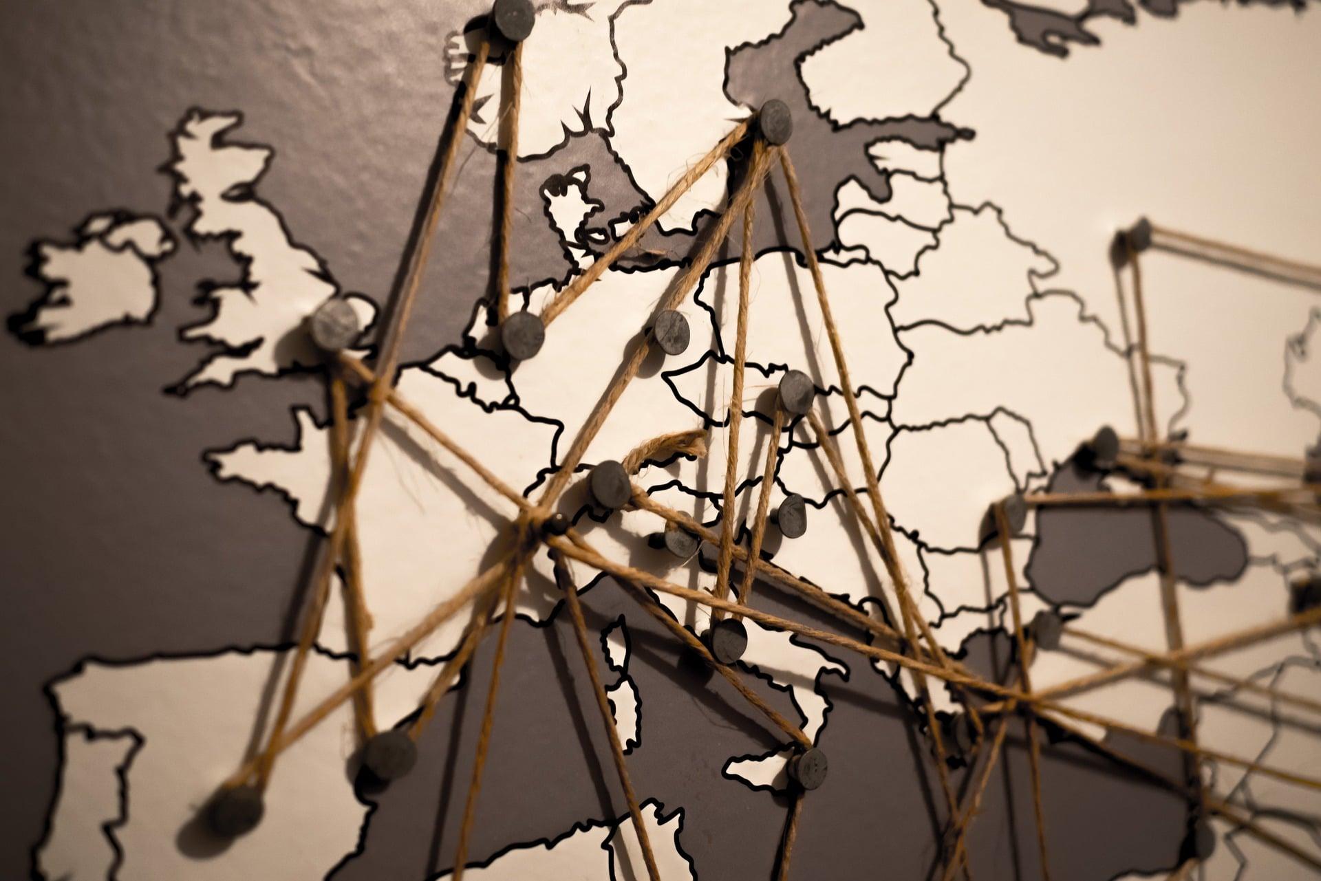 EU Trade Agreements Map